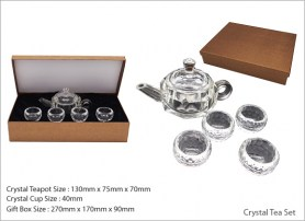 Crystal Tea Set
