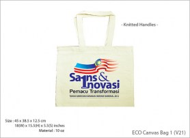ECO Canvas Bag 1 V21