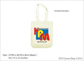 ECO Canvas Bag 3 V21