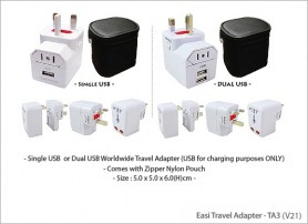 Easi Travel Adapter TA3 (V21)