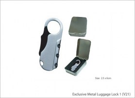 Exclusive Metal Luggage Lock 1 (V21)