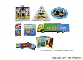Flatsheet OEM Fridge Magnets
