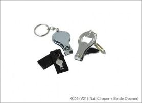 KC06 V21 Nail Clipper Bottle Opener