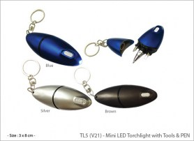 Mini LED Torchlight with Tools & PEN TL5 (V21)1