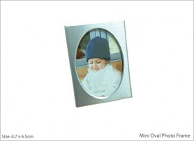 Mini Oval Photo Frame
