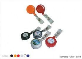 Nametag Pulley Solid