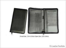 PU Leather Portfolio