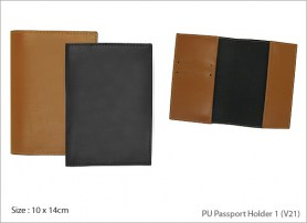 PU Passport Holder 1 V21