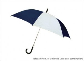 Tafetta Nylon 24 Umbrella 2 colours combination