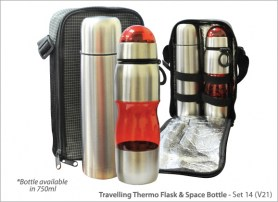 Travelling Thermo Flask Space Bottle